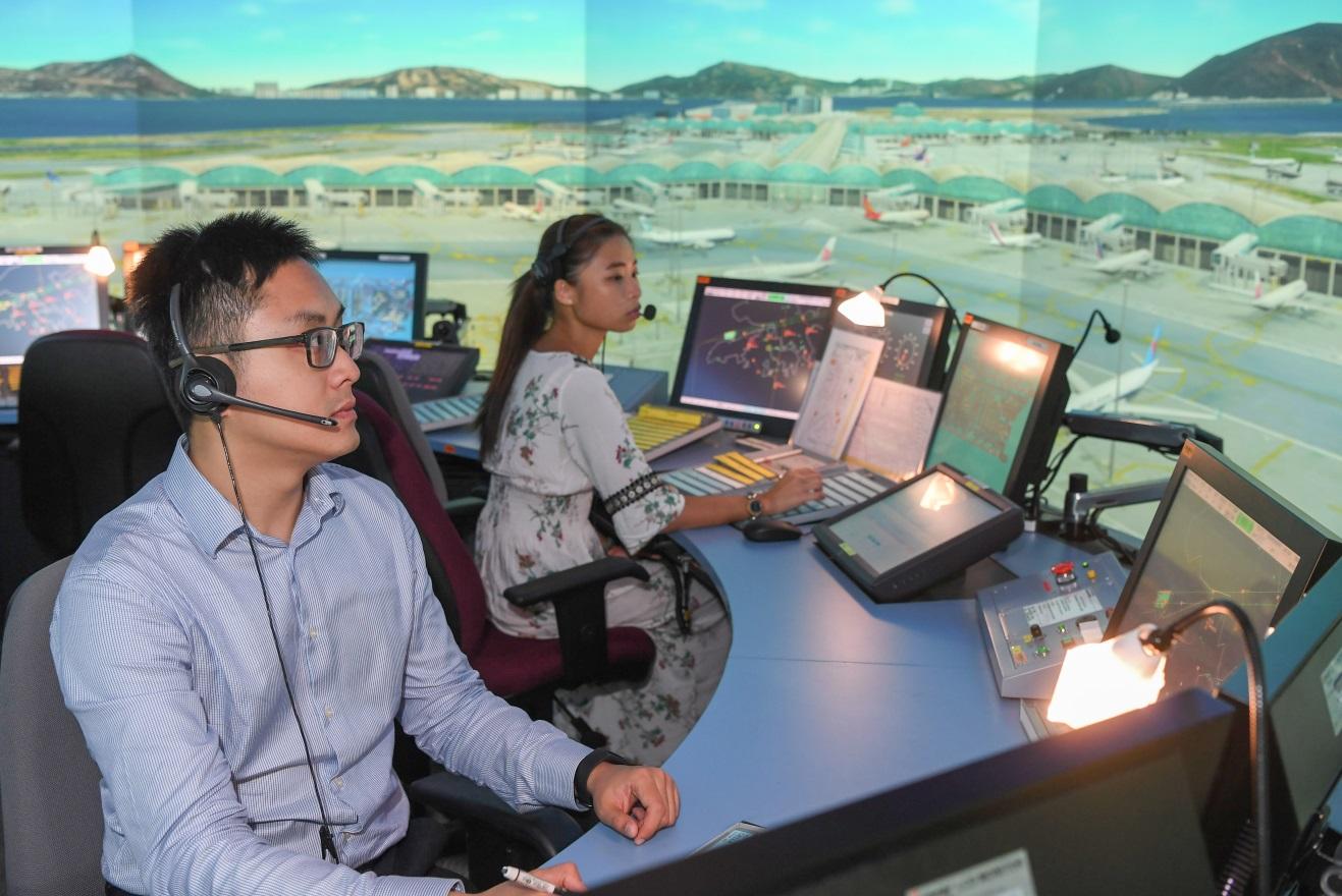 Civil Aviation Department - Training for Air Traffic Control